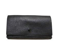 """画像2: """"JUTTA NEUMANN"""" Leather Wallet """"the Waiter's Wallet""""  color : Black / Magenta 長財布 (2)"""
