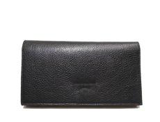 """画像3: """"JUTTA NEUMANN"""" Leather Wallet """"the Waiter's Wallet""""  color : Black / Lavender 長財布 (3)"""