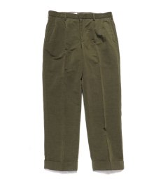 "画像2: Riprap ""TWO TUCK SLACKS"" color : OLIVE size : LARGE-R (2)"