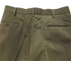 "画像6: Riprap ""TWO TUCK SLACKS"" color : OLIVE size : LARGE-R (6)"