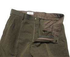 "画像4: Riprap ""TWO TUCK SLACKS"" color : OLIVE size : LARGE-R (4)"