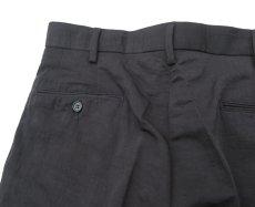 """画像6: Riprap """"NO TUCK SLACKS"""" color : BLACK size : LARGE-R (6)"""