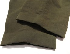 "画像7: Riprap ""TWO TUCK SLACKS"" color : OLIVE size : LARGE-R (7)"