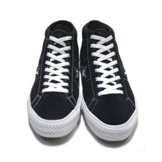 "画像2: NEW CONVERSE ""ONE STAR MID"" Suede Skate Shoes BLACK size US 11 (2)"