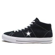 """画像3: NEW CONVERSE """"ONE STAR MID"""" Suede Skate Shoes BLACK size US 11 (3)"""
