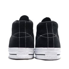 "画像4: NEW CONVERSE ""ONE STAR MID"" Suede Skate Shoes BLACK size US 11 (4)"