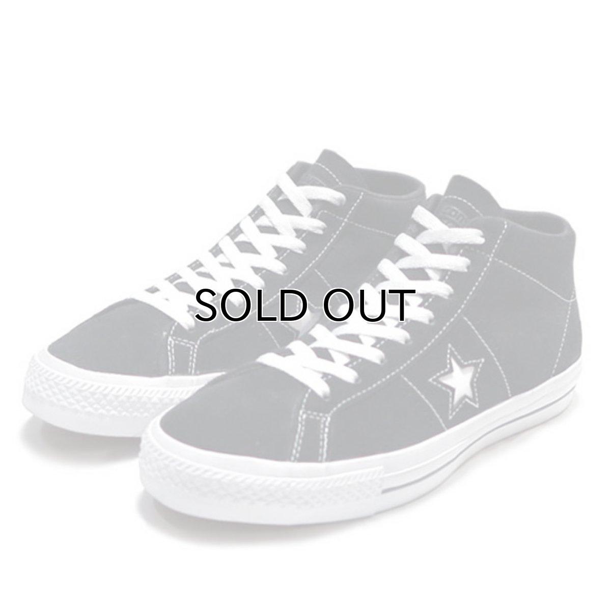 """画像1: NEW CONVERSE """"ONE STAR MID"""" Suede Skate Shoes BLACK size US 11 (1)"""