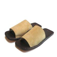 "画像2: JUTTA NEUMANN ""SAM"" Suede Leather Sandal CAMEL size 7 D, 8 D, 9 D, 10 D (2)"