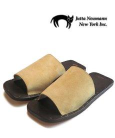 "画像1: JUTTA NEUMANN ""SAM"" Suede Leather Sandal CAMEL size 7 D, 8 D, 9 D, 10 D (1)"