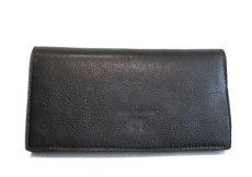 """画像3: """"JUTTA NEUMANN"""" Leather Wallet """"the Waiter's Wallet""""  color : Black / Deep Red 長財布 (3)"""