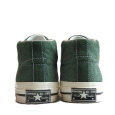 """画像5: NEW Converse """"ONE STAR"""" MID Suede Sneaker GREEN size 10 (5)"""