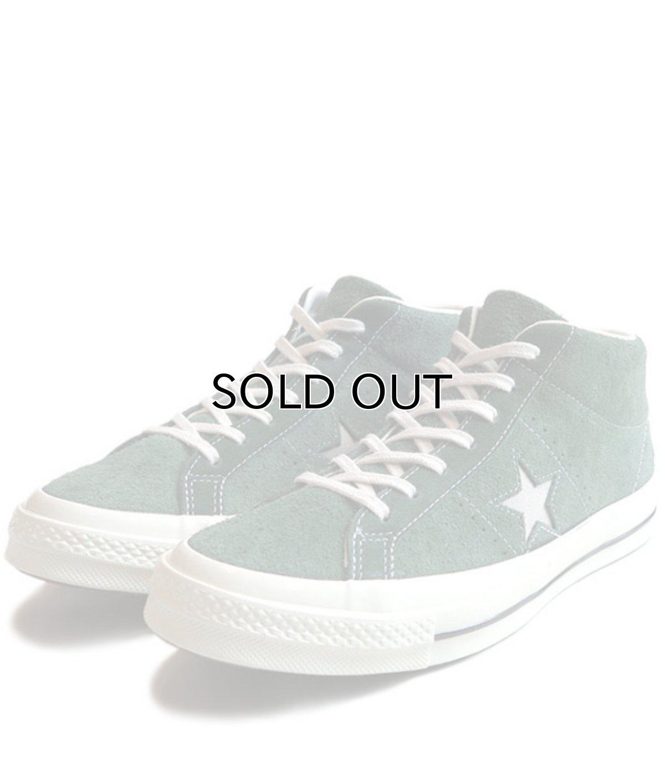 """画像1: NEW Converse """"ONE STAR"""" MID Suede Sneaker GREEN size 10 (1)"""