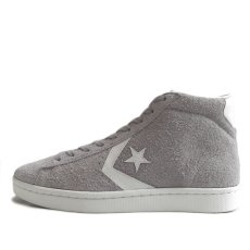 "画像3: NEW CONVERSE ""PRO LEATHER "" MID Suede Skate Shoes GREY size 9, 9.5, 10 (3)"