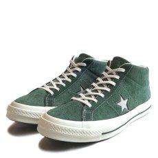 """画像2: NEW Converse """"ONE STAR"""" MID Suede Sneaker GREEN size 10 (2)"""