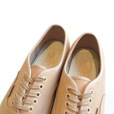 """画像7: NEW VANS """"AUTHENTIC"""" Leather Sneaker VEGGIE TAN size 10 (7)"""
