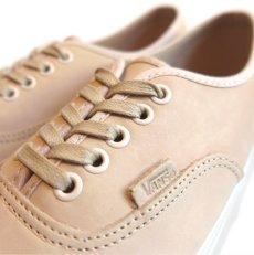 """画像6: NEW VANS """"AUTHENTIC"""" Leather Sneaker VEGGIE TAN size 10 (6)"""