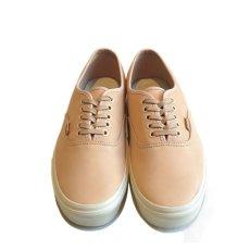 """画像3: NEW VANS """"AUTHENTIC"""" Leather Sneaker VEGGIE TAN size 10 (3)"""