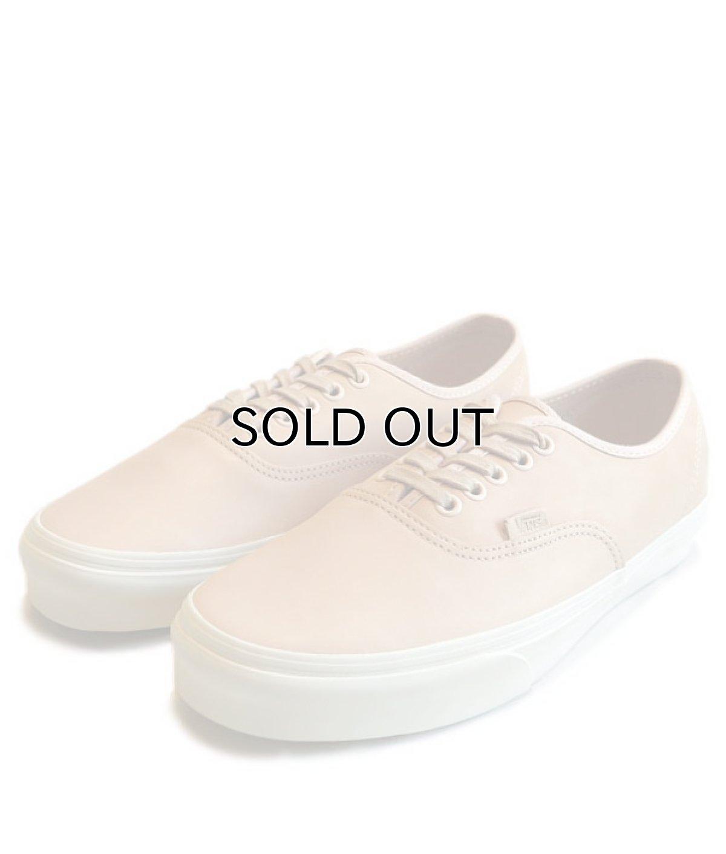 """画像1: NEW VANS """"AUTHENTIC"""" Leather Sneaker VEGGIE TAN size 10 (1)"""