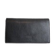 """画像3: """"JUTTA NEUMANN"""" Leather Wallet """"the Waiter's Wallet""""  color : Black / Orange 長財布 (3)"""