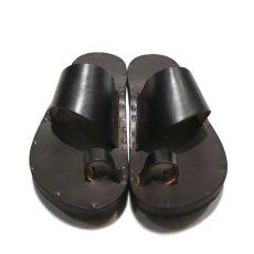 """画像3: JUTTA NEUMANN """"ALICE"""" Leather Sandal BLACK size 7 D, 8 D, 9 D, 10 D (3)"""