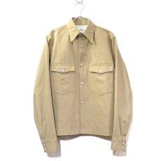 """画像2: Riprap """"Long Point Short Length Western Shirts"""" color :KHAKI (2)"""