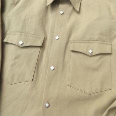 """画像6: Riprap """"Long Point Short Length Western Shirts"""" color :KHAKI (6)"""
