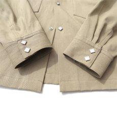 """画像7: Riprap """"Long Point Short Length Western Shirts"""" color :KHAKI (7)"""