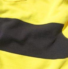 """画像5: Riprap """"Super Soft Loopwheel Switching Crew Sweat Shirts """"  color : LEMON/BLACK (5)"""