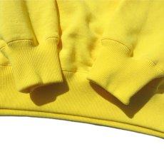 """画像7: Riprap """"Super Soft Loopwheel Switching Crew Sweat Shirts """"  color : LEMON/BLACK (7)"""