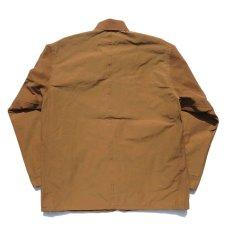 """画像4: Riprap """"C/N Grosgrain Chore Coat"""" color : SADDLE BROWN (4)"""
