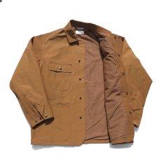 """画像9: Riprap """"C/N Grosgrain Chore Coat"""" color : SADDLE BROWN (9)"""