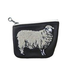 """画像2: Riprap """"Sheep Coin Purse"""" color : BLACK size FREE (one size) (2)"""