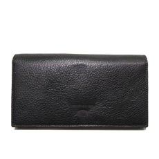 """画像3: """"JUTTA NEUMANN"""" Leather Wallet """"the Waiter's Wallet""""  color : Black / Baby Blue 長財布 (3)"""