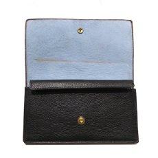 """画像5: """"JUTTA NEUMANN"""" Leather Wallet """"the Waiter's Wallet""""  color : Black / Baby Blue 長財布 (5)"""
