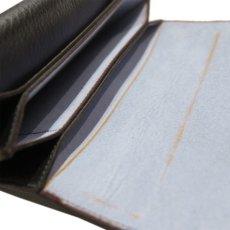 """画像9: """"JUTTA NEUMANN"""" Leather Wallet """"the Waiter's Wallet""""  color : Black / Baby Blue 長財布 (9)"""