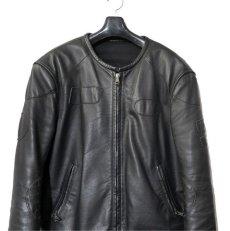 """画像3: 2000's """"Maison Martin Margiela 10"""" Motorcycle Leather Jacket size 52 (3)"""