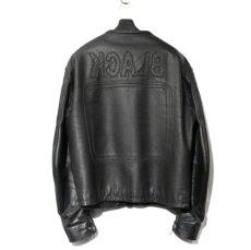 """画像2: 2000's """"Maison Martin Margiela 10"""" Motorcycle Leather Jacket size 52 (2)"""