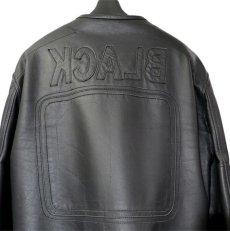 """画像4: 2000's """"Maison Martin Margiela 10"""" Motorcycle Leather Jacket size 52 (4)"""