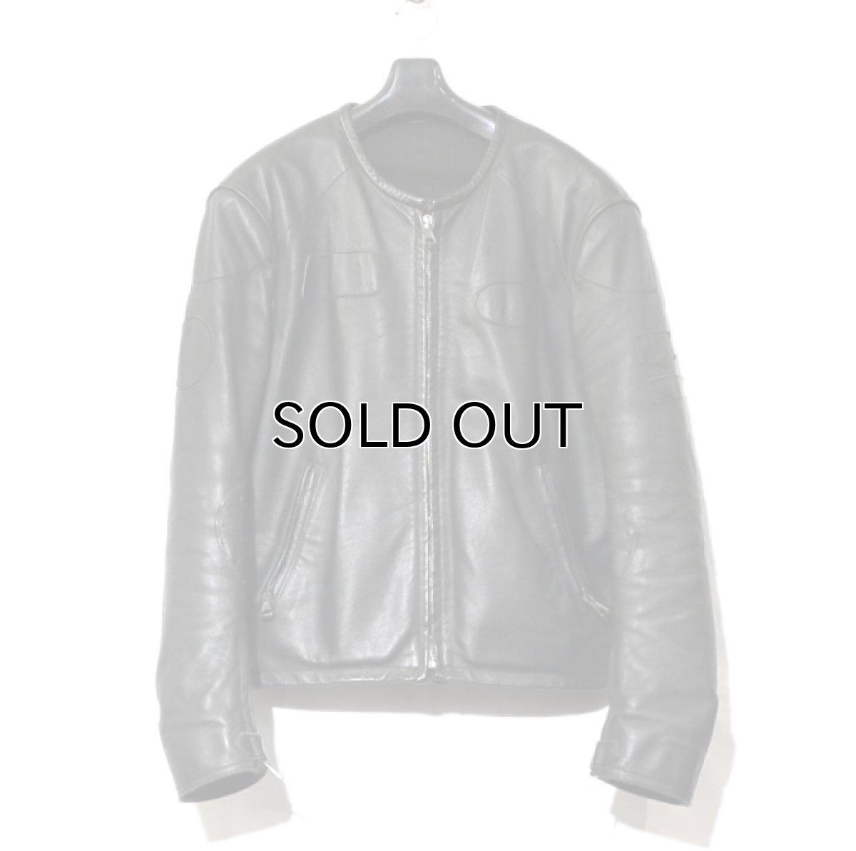 """画像1: 2000's """"Maison Martin Margiela 10"""" Motorcycle Leather Jacket size 52 (1)"""