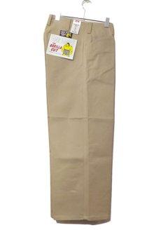 """画像1: BEN DAVIS  """"THE GORILLA CUT"""" Wide Work Pants BEIGE size  w 30 / w 32 (1)"""