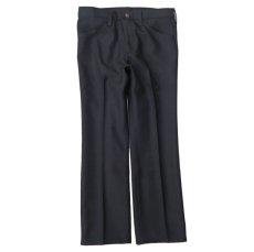 """画像4: Wrangler """"WRANCHER DRESS JEANS""""  Boot Cut Pants BLACK size W 29~40 INCH (4)"""