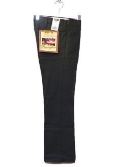 """画像1: Wrangler """"WRANCHER DRESS JEANS""""  Boot Cut Pants BLACK size W 29~40 INCH (1)"""
