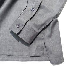 """画像7: Riprap """"W/S Tropical Semi Open Collar Shirts"""" color : MOONROCK (7)"""