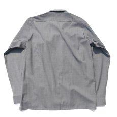 """画像5: Riprap """"W/S Tropical Semi Open Collar Shirts"""" color : MOONROCK (5)"""