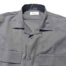 """画像6: Riprap """"W/S Tropical Semi Open Collar Shirts"""" color : MOONROCK (6)"""