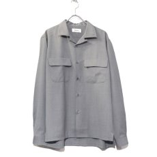 """画像2: Riprap """"W/S Tropical Semi Open Collar Shirts"""" color : MOONROCK (2)"""