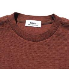 """画像5: Riprap """"Crew Neck Pocket Polo Shirts""""  color : RUST size MEDIUM (5)"""