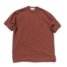 """画像4: Riprap """"Crew Neck Pocket Polo Shirts""""  color : RUST size MEDIUM (4)"""