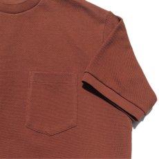 """画像6: Riprap """"Crew Neck Pocket Polo Shirts""""  color : RUST size MEDIUM (6)"""