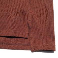 """画像7: Riprap """"Crew Neck Pocket Polo Shirts""""  color : RUST size MEDIUM (7)"""